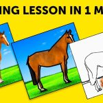 ONE MINUTE DRAWING LESSON #shorts