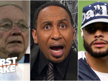 Stephen A. unleashes a rant on Jerry Jones and Dak Prescott's contract with the Cowboys | First Take