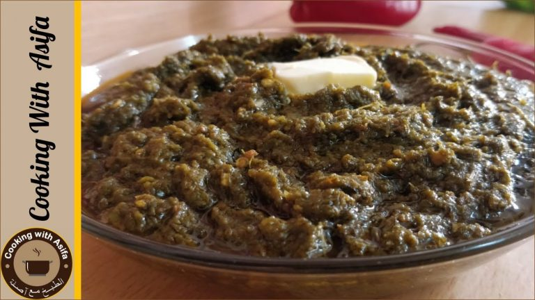 Sarson ka saag recipe by cooking with Asifa