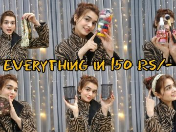 One Dollar Shop || Everything in 150 Rs/- Only || Shopping Haul 5
