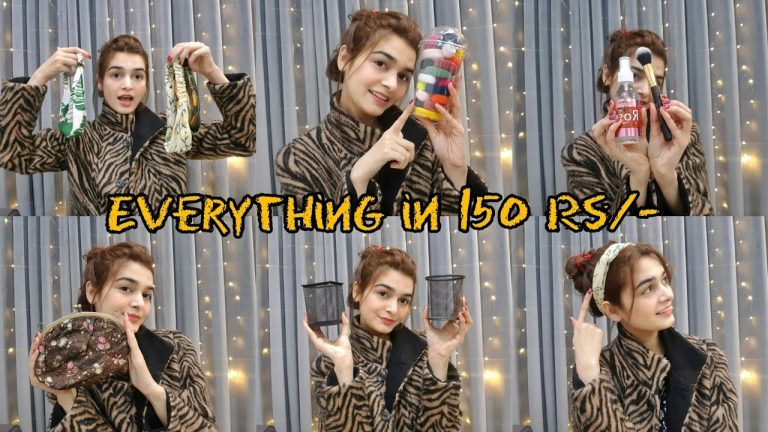 One Dollar Shop || Everything in 150 Rs/- Only || Shopping Haul 1