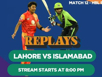 #HBLPSLReplays | Islamabad United vs Lahore Qalandars | Match 12 | HBL PSL 3