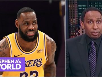 'He didn't need rest then!' - Stephen A. says LeBron has struggled before   Stephen A's World