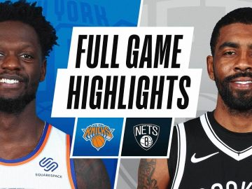 KNICKS at NETS | FULL GAME HIGHLIGHTS | March 15, 2021
