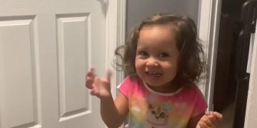 Little girl explains what'll happen if you use the bathroom after daddy #shorts