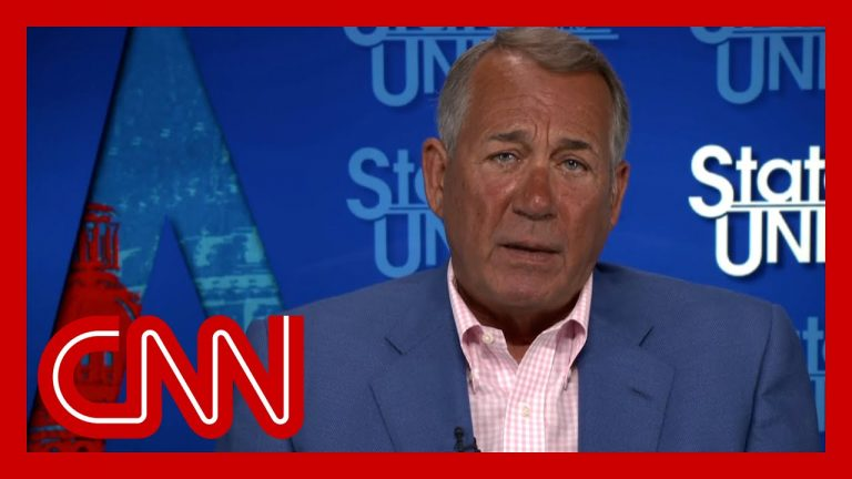 Boehner: 'Republicans have to go back to being Republicans'