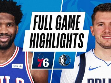 SIXERS at MAVERICKS | FULL GAME HIGHLIGHTS | April 12, 2021