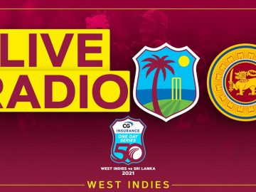 🔴LIVE RADIO | West Indies v Sri Lanka | 1st CG Insurance ODI 5