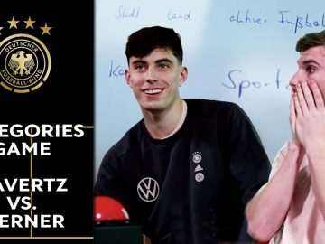 """""""I am the best player in the world"""" - Kai Havertz and Timo Werner play hilarious categories game"""