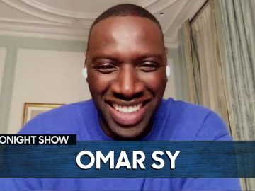 Omar Sy Embarrassed Himself in Front of Tom Hanks | The Tonight Show Starring Jimmy Fallon