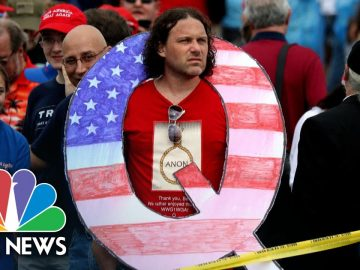 QAnon and Conspiracy Theories: An American Political Tradition | Meet The Press | NBC News