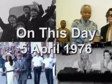 On This Day: 5 April 1976