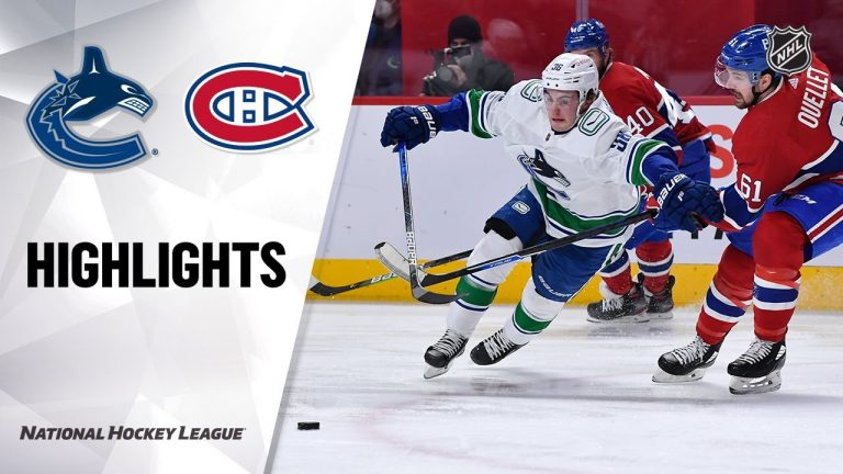 Canucks @ Canadiens 3/19/21 | NHL Highlights