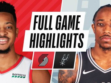 TRAIL BLAZERS at SPURS | FULL GAME HIGHLIGHTS | April 16, 2021