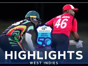 Highlights | Guyana vs Trinidad & Tobago | Five on the Bounce for T&T! | CG Insurance Super50 Cup