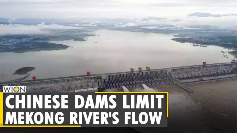 US: Chinese dams limit Mekong river's flow | World News | WION News