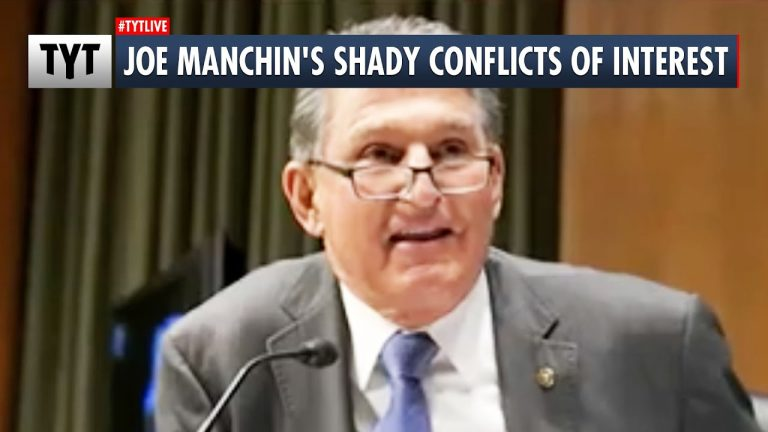 EXPOSED: Joe Manchin's SHADY Conflicts of Interest UNCOVERED by TYT