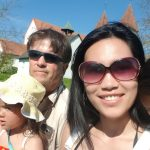 Tour in Reichenau Insel am Bodensee Germany|Spring2021|Fam.Bond picnic and playing Badminton.