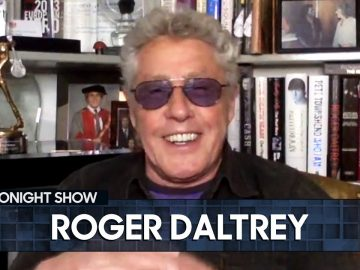 Boredom Inspired Roger Daltrey to Create His Iconic Mic-Swinging Trick | The Tonight Show