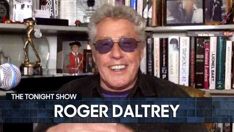Boredom Inspired Roger Daltrey to Create His Iconic Mic-Swinging Trick   The Tonight Show