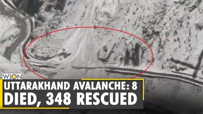 8 dead, 348 rescued after an avalanche hit Indian state of Uttarakhand   Glacier Burst  English News
