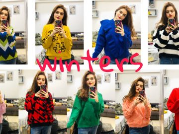 Colourful Winter Sweaters || Shopping Haul 4