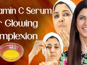 DIY Vitamin C Serum For Glowing Younger Looking Complexion / For Brown Spots - Ghazal Siddique