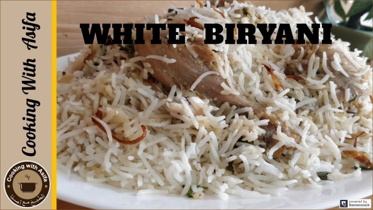 Special White Biryani Recipe - Tasty Chicken Biryani Recipe - Cooking with Asifa-