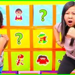 Smash Box Surprise Minute to Win it games with Ryan's World!!! 4