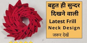 Easy Neck Design Cutting and Stitching For Kurti/Suit | Neck Design 14