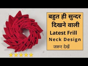 Easy Neck Design Cutting and Stitching For Kurti/Suit | Neck Design 7
