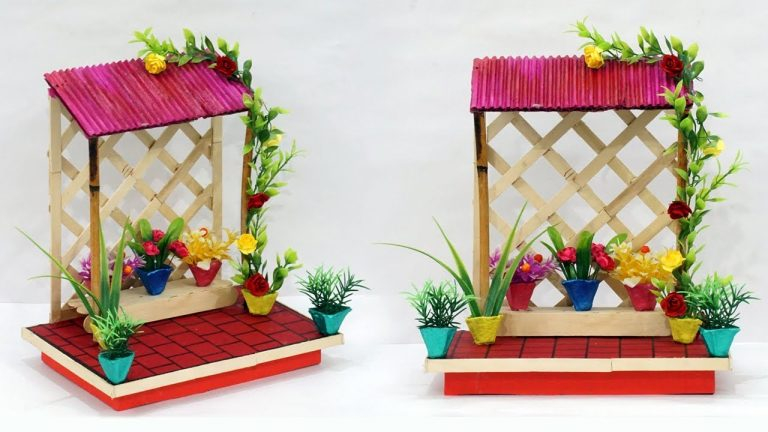 DIY Cardboard House Home Decoration Idea | Best Out of Waste Home Decoration Using Cardboard