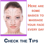 Here are some basics to massage your face everyday. 3