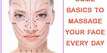 Here are some basics to massage your face everyday. 5