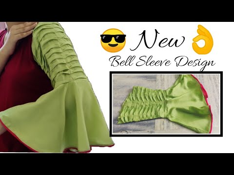 Unique Bell Sleeves || Frill Sleeve Design Easy Cutting and Stitching @RR Fashion Point 1