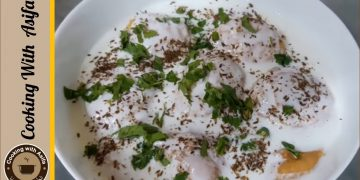Homemade Dahi Bhalla Recipe by Cooking with Asifa | بیسن کے دہی بڑے