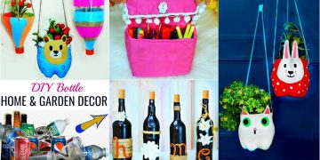 Waste Bottle HACKS for DIY HOME/GARDEN Decor - Magical Craft Ideas | #Recycle #Anaysa #DIYQueen