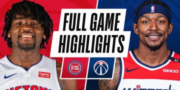 PISTONS at WIZARDS | FULL GAME HIGHLIGHTS | April 17, 2021