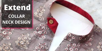 Collar Kurti Front Neck Design Cutting and Stitching | Neck Design 4