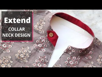 Collar Kurti Front Neck Design Cutting and Stitching | Neck Design 7