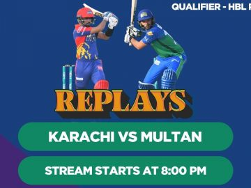 #HBLPSLReplays | Karachi Kings vs Multan Sultans | Qualifier | HBL PSL 5