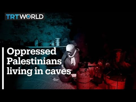 Palestinians use caves to resist Israeli evictions