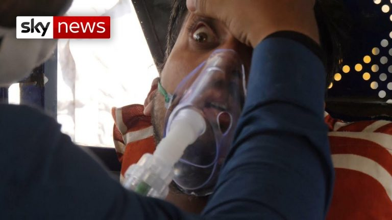 COVID-19: India's oxygen shortage leaves people begging for air