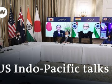 Indo-Pacific 'Quad' Summit - A counterweight to China? | DW News