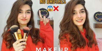 NO BRUSHES😱❌ || Makeup Without Brushes - Possible??? 7