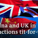 China responds to UK sanctions over Xinjiang with sanctions   DW News