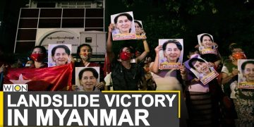 Suu Kyi's party wins absolute majority in Myanmar polls | World News | WION News