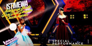 Adelways Way X Isyana - Time To Say Goodbye | Grand Final | The Voice Kids Indonesia Season 4 7