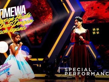 Adelways Way X Isyana - Time To Say Goodbye | Grand Final | The Voice Kids Indonesia Season 4 8