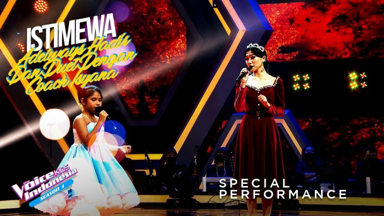 Adelways Way X Isyana - Time To Say Goodbye | Grand Final | The Voice Kids Indonesia Season 4 1